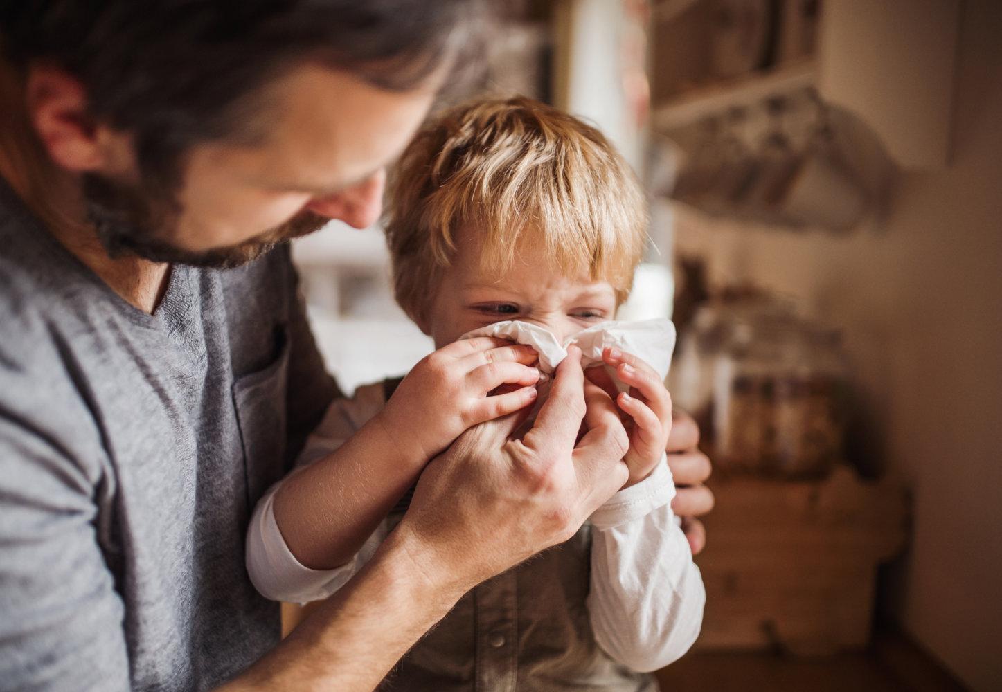 Kinderschnupfen - was kann ich tun?